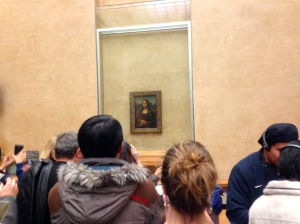 Crowding around the Mona Lisa